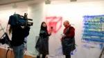 Entrevistando a Francisco para Antena Aragón