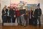 Varios de los artistas participantes