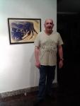 05 Homenaje a Ruiz Cortes Francisco junto a su obra.
