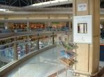 Vista del centro comercial