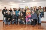 Grupo de artistas participantes