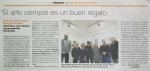 Reseña en el Heraldo de Aragón