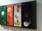 Obra en exposición: Cuatro lunas